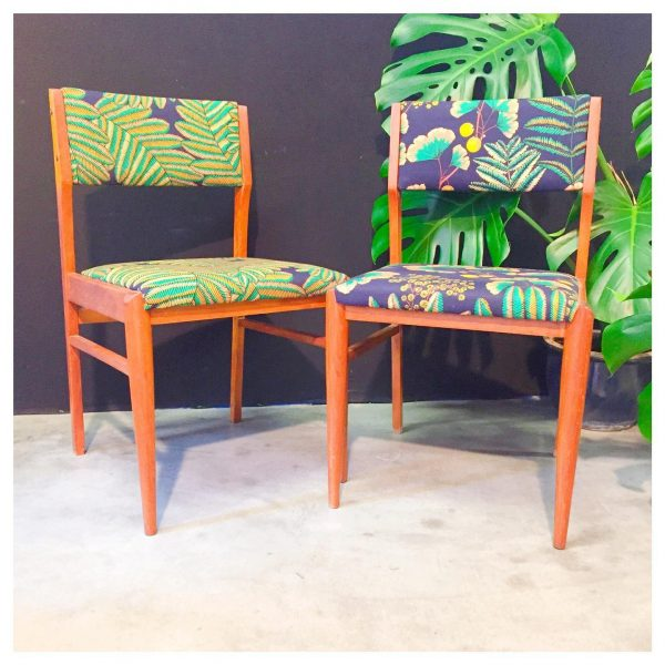 Machao - Pteridomania - 6 chaises vintages