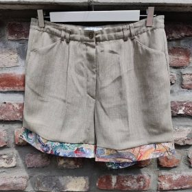 Upcycle Your Clothes - Short upcyclé - Beige (S-M)