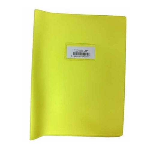 Bronyl - Couvre cahier A4 - Jaune