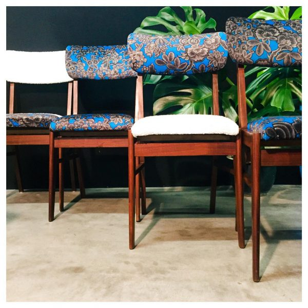 Machao - Chaises vintage - Lucy in the sky (4 unités)